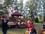 Nauka kuglarstwa w Łupawsku