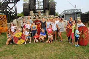 Żywa lekcja historii w Oskowie