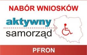 """Rusza nabór wniosków w ramach Modułu I oraz Modułu II pilotażowego programu PFRON """"Aktywny Samorząd"""""""